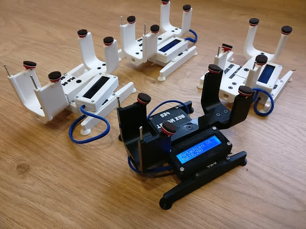 portachiavi 4 F1B / Micro DLG medidor centro de gravedad