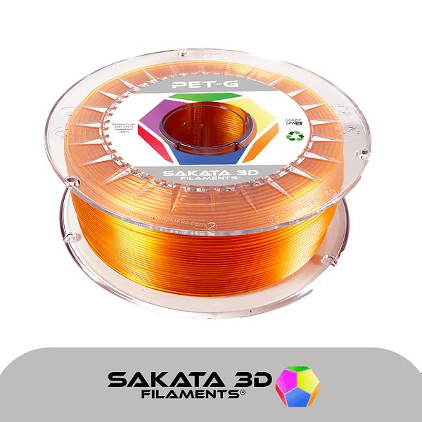 portachiavi filamento ámbar ETG-1KG – 1.75mm – Sakata3D
