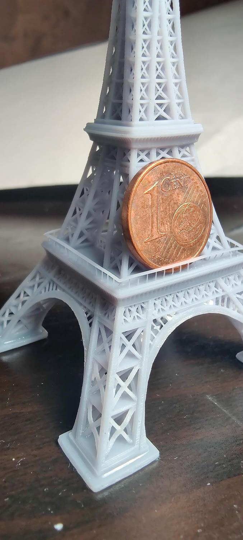 portachiavi impresión 3D torre Eiffel