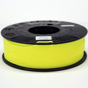 portachiavi filamento amarillo flúor PLA E.P. (3D850)- 1.75mm – ALL COLORS Materials 3D
