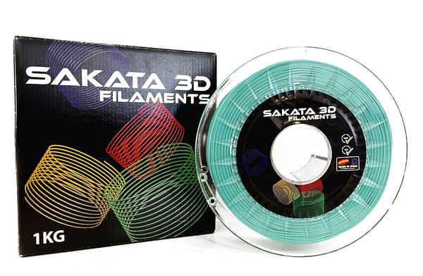 portachiavi Filamento verde Surf y caja PLA INGEO 3D850 -1KG - 1.75mm - Sakata3D
