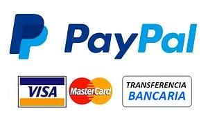 formas de pago admitidas