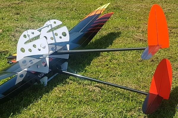portachiavi soporte 3 glinders F5J / F3X con aviones 2
