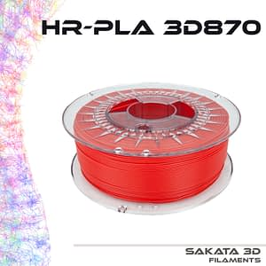 portachiavi filamento rojo HR-PLA INGEO 3D870 -1KG – 1.75mm – Sakata3D