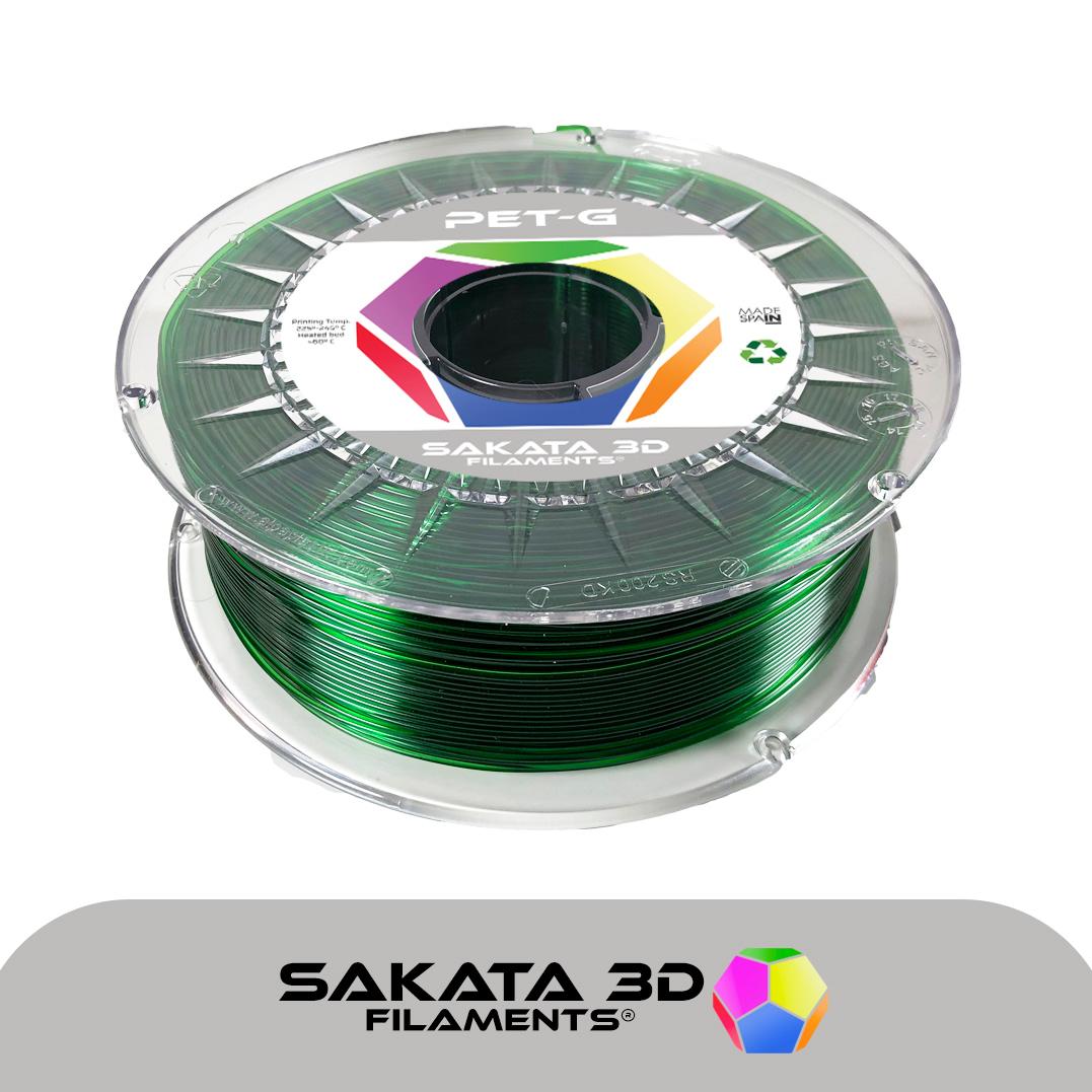 portachiavi filamento esmeralda ETG-1KG – 1.75mm – Sakata3D
