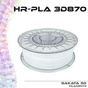 portachiavi filamento blanco HR-PLA INGEO 3D870 -1KG – 1.75mm – Sakata3D