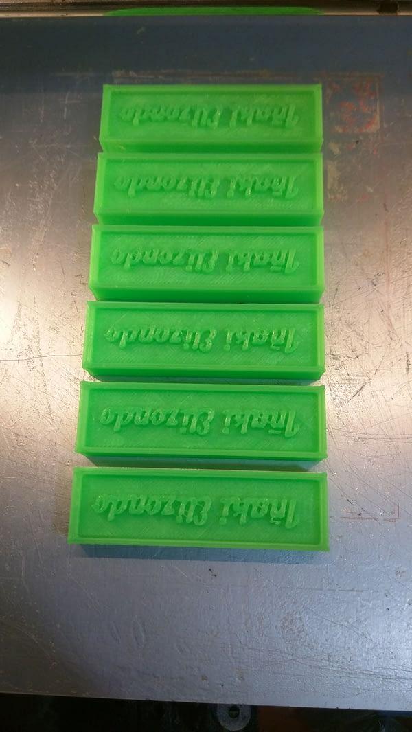 portachiavi F3F / F3B separadores verde