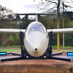 portachiavi cg gigante para grandes aviones con avión