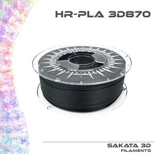 portachiavi filamento negro y caja HR-PLA INGEO 3D870 -1KG – 1.75mm – Sakata3D