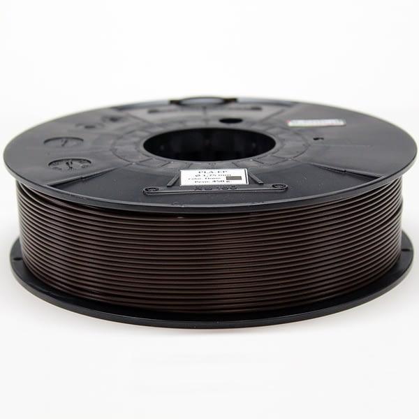 portachiavi filamento marrón ébano PLA E.P. (3D850)- 1.75mm – ALL COLORS Materials 3D