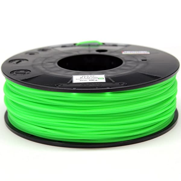 portachiavi filamento verde flúor PLA E.P. (3D850)- 1.75mm – ALL COLORS Materials 3D