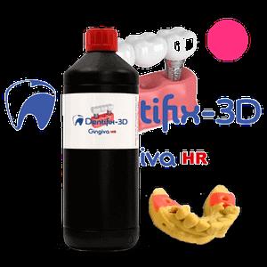 portachiavi DENTIFIX-3D Gingiva HR – resina FunToDo para modelos de encía
